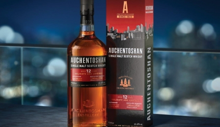 Auchentoshan Whisky's Chic New Urban Packaging