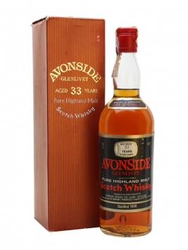 Avonside (Glenlivet) 1938 / 33 Year Old / Sherry Cask / G&M Speyside Whisky