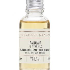 Balblair 19 Year Old Sample / Art of Whisky Mashing Highland Whisky