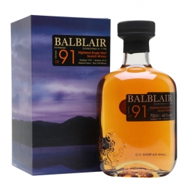 Balblair 1991 / 3rd Release Highland Single Malt Scotch Whisky