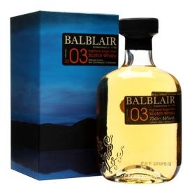 Balblair 2003 Highland Single Malt Scotch Whisky