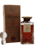 Ballantine's 30 Year Old / Crystal Decanter / Bot.1950s Blended Whisky