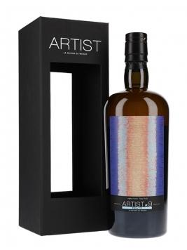 Ballechin 2010 / 5 Year Old /Peaty Artist #9 / Batch 2 / SIG for LMDW Highland Whisky