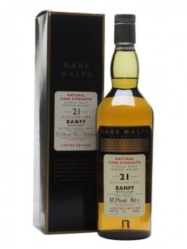 Banff 1982 / 21 Year Old / Rare Malts Highland Whisky