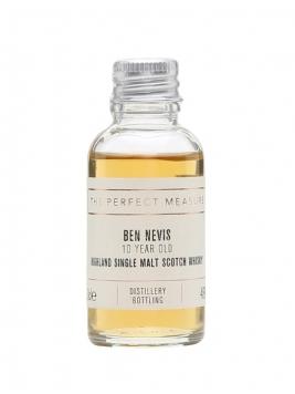 Ben Nevis 10 Year Old Sample Highland Single Malt Scotch Whisky