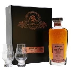 Ben Nevis 1990 / 27 Year Old / Signatory 30th Anniversary Highland Whisky