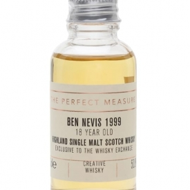 Ben Nevis 1999 Sample / 18 Year Old/Creative Whisky for TWE Highland Whisky