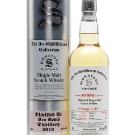 Ben Nevis 2010 / 9 Year Old / Signatory Highland Whisky