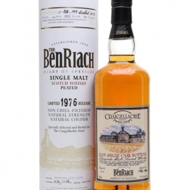 Benriach 1976 / 28 Year Old / Peated / Craigellachie Hotel Speyside Whisky