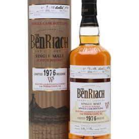 Benriach 1976 / 36 Year Old / Single Cask #3012 Speyside Whisky