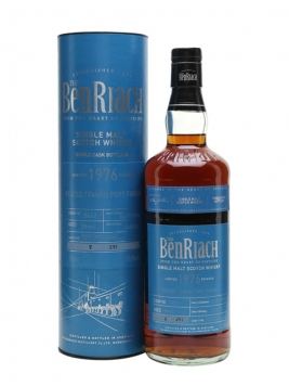 Benriach 1976 / 39 Year Old / Peated / Port Finish Speyside Whisky