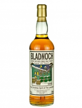 Bladnoch 16 Year Old Christmas Spirit 2008