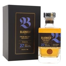 Bladnoch Talia / 27 Year Old / Bourbon Finish Lowland Whisky