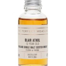 Blair Athol 12 Year Old Sample / Flora & Fauna Highland Whisky
