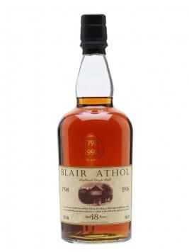 Blair Athol 18 Year Old / Bicentenary / Sherry Cask Highland Whisky