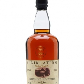 Blair Athol 18 Year Old / Bicentenary / Sherry Cask Highland Whisky