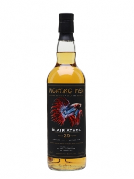 Blair Athol 1988 / 30 Year Old / Jack Wiebers Fighting Fish Highland Whisky
