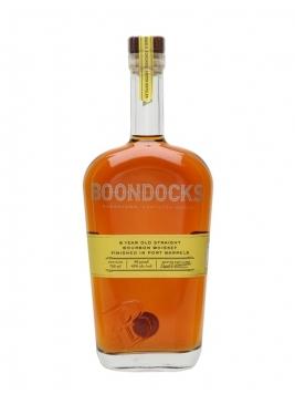 Boondocks 8 Year Old Bourbon / Port Cask Finish