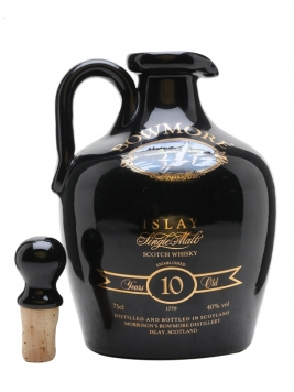 Bowmore 10 Year Old / Provident Mutual 150 Years Ceramic Islay Whisky