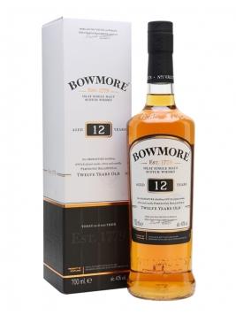 Bowmore 12 Year Old Islay Single Malt Scotch Whisky