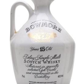 Bowmore 15 Year Old / Glasgow Garden Ceramic (1988) Islay Whisky