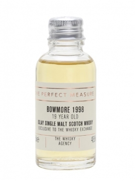 Bowmore 1998 Sample / 19 Year Old / Whisky Agency for TWE Islay Whisky