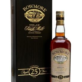 Bowmore 25 Year Old Islay Single Malt Scotch Whisky