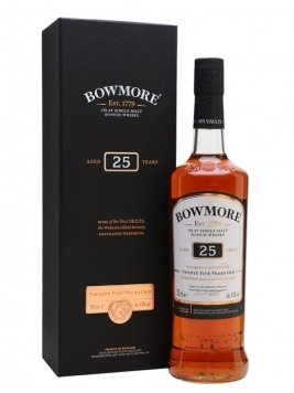 Bowmore 25 Year Old Islay Single Malt Scotch Whisky