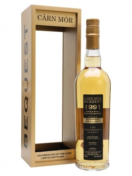 Bowmore Carn Mor Bequest 1991 The Chairman's Legecy Islay Whisky