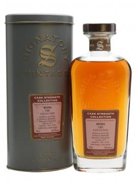 Brora 1981 / 24 Year Old / Sherry Butt / Signatory Highland Whisky