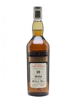 Brora 1982 / 20 Year Old / Rare Malts Highland Whisky