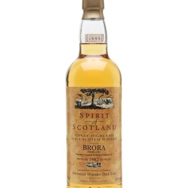 Brora 1982 / Bot.1999 / Spirit of Scotland Highland Whisky