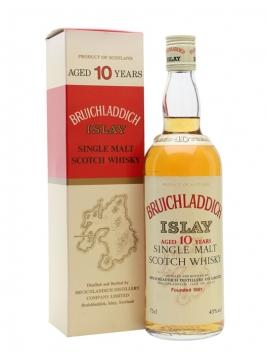 Bruichladdich 10 Year Old / Bot.1980s Islay Single Malt Scotch Whisky
