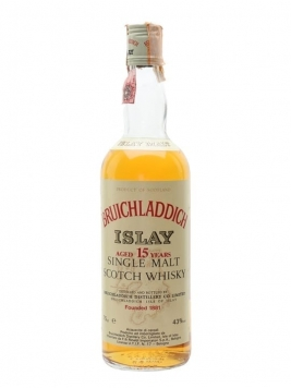 Bruichladdich 15 Year Old / Bot.1980s Islay Single Malt Scotch Whisky