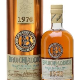 Bruichladdich 1970 Islay Single Malt Scotch Whisky