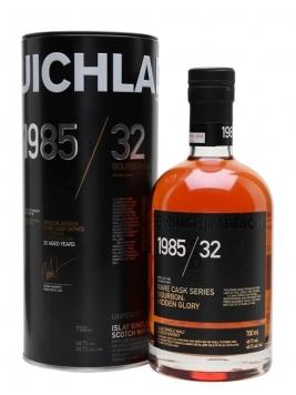 Bruichladdich 1985 / Hidden Glory / 32 Year Old / Rare Cask Series Islay Whisky