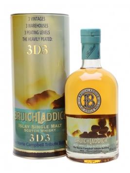 Bruichladdich 3D3 / Norrie Campbell Islay Single Malt Scotch Whisky