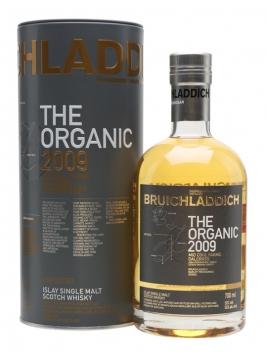Bruichladdich Organic 2009 Islay Single Malt Scotch Whisky