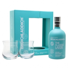 Bruichladdich The Classic Laddie / 2 Glass Pack Islay Whisky