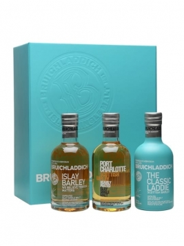 Bruichladdich Wee Laddie Tasting Collection (3 x 20cl) Islay Whisky