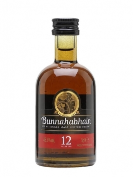 Bunnahabhain 12 Year Old Miniature Islay Single Malt Scotch Whisky