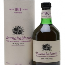 Bunnahabhain 1963 / 40 Year Old Islay Single Malt Scotch Whisky