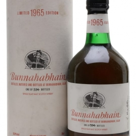 Bunnahabhain 1965 / 35 Year Old / Sherry Cask Islay Whisky