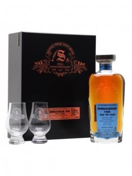 Bunnahabhain 1968 / 50 Year Old / Signatory 30th Anniversary Islay Whisky