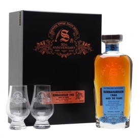 Bunnahabhain 1968 / 50 Year Old / Signatory 30th Anniversary Islay Whisky