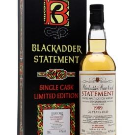 Bunnahabhain 1989 / 26 Year Old / Blackadder No 25 Islay Whisky