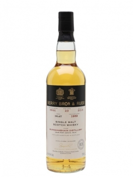 Bunnahabhain 1989 / 29 Year Old / Berry Brothers and Rudd Islay Whisky