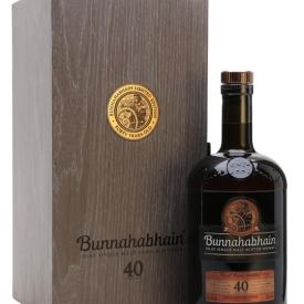 Bunnahabhain 40 Year Old / 2018 Release Islay Whisky