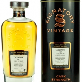 Caledonian 31 Year Old 1987 Signatory Cask Strength