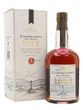 Campbeltown 1972 / Bottle for Tesco Campbeltown Whisky